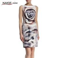 KaigeNina Nieuwe Mode Hot Koop Vrouwen Kraag Jurk Dames Feestjurken Vestidos 2171 Bodycon Jurk een