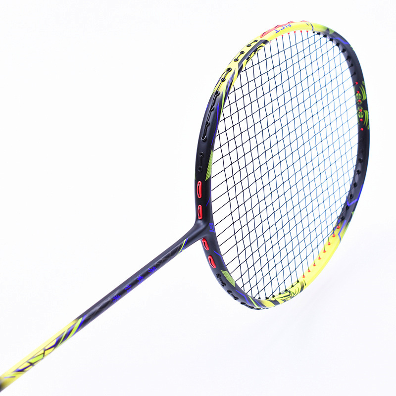 1 Piece Pure Carbon Fiber T700 4U Professional Competition Badminton Rackets Super Light Weight Sports Rackets With Line