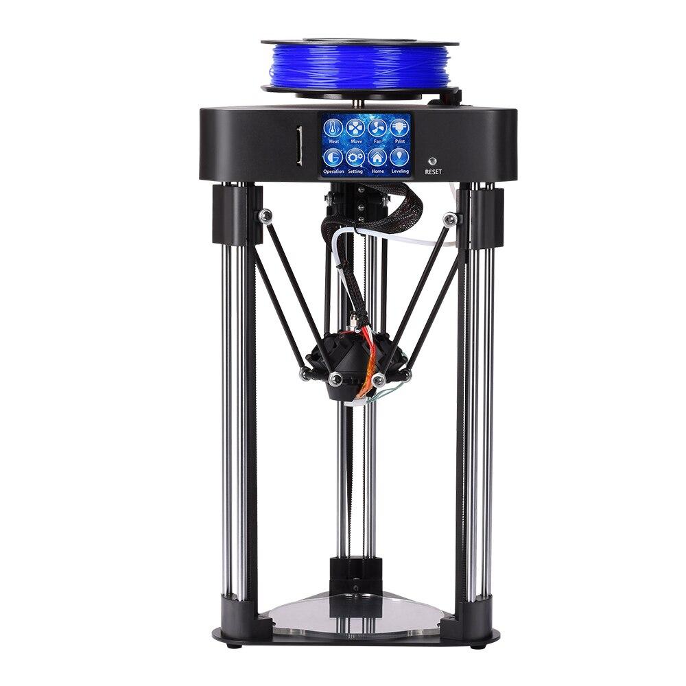 Mago BIQU 3D Impressora De Alta precisão Mini delta kossel Extrusora de impressora Totalmente Assembléia Tela Sensível Ao Toque de 2.8 polegada com Titan