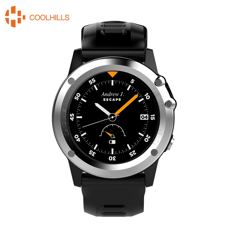 H1 Watch IP68 Professional Waterproof Smart Watch GPS Navigation Smartwatch Support SIM Card Video Call Camera Compass Watch wireless service call bell system popular in restaurant ce passed 433 92mhz full equipment watch pager 1 watch 7 call button
