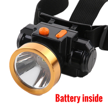 Rechargeable Headlight Headlamp Lantern Mini LED Head Lamp Torch Mine Light for Camping Hiking Running Hunting