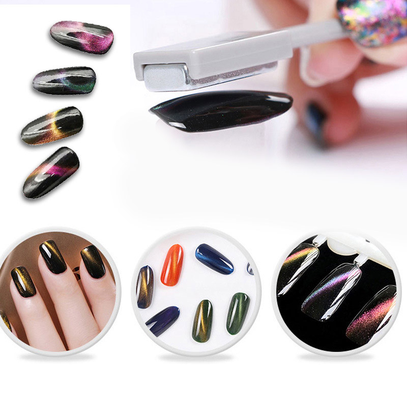 High Qu Magnetic Plate For All Magic 3D Cat Eyes Magnet Pen Nails Gel Polish Tools For Women Gift Nail Art DIY Tool 88 SK88