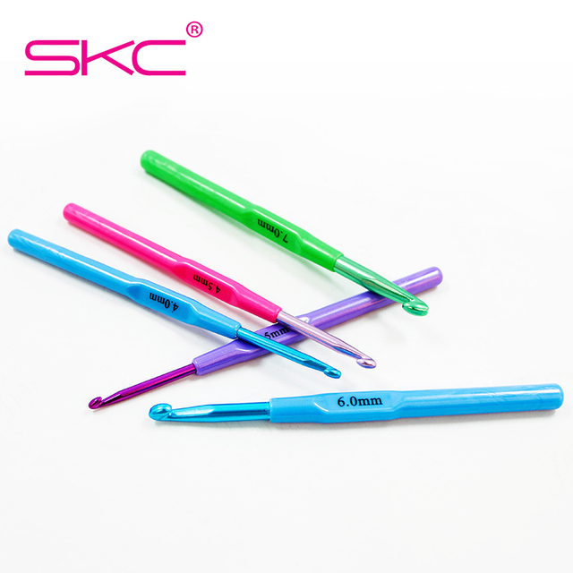Skc 10 Sizesset High Quality Crochet Hook Hand Knitted Sweaters And