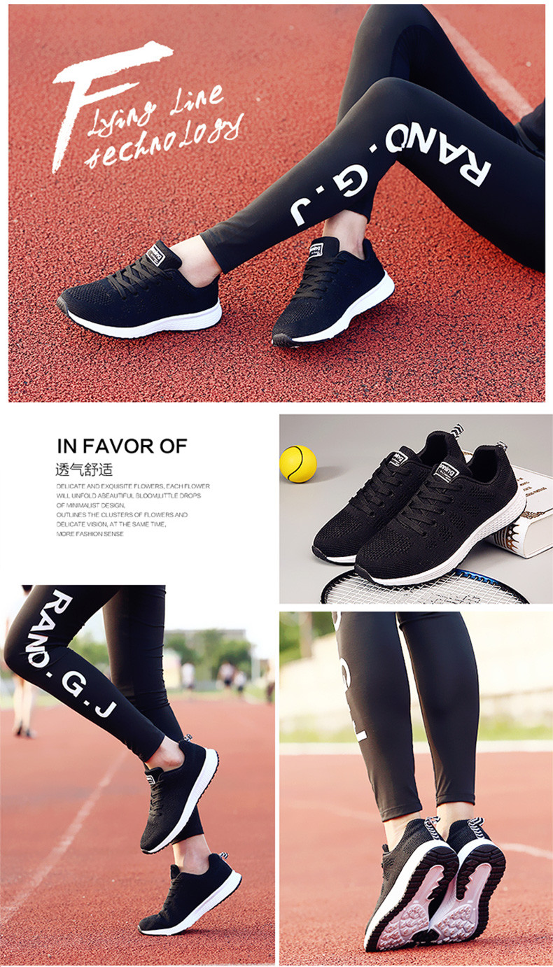 Air Cushion Original Breathable Sneakers Women Summer Springs Athletic Outdoor Sports Entertainment Shoes Women Running Shoes 5