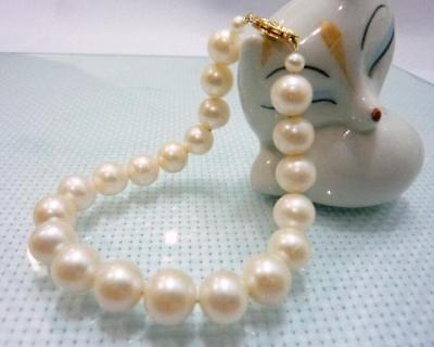 natural round south sea 10-11mm white pearl bracelet 7.5-8 natural round south sea 10-11mm white pearl bracelet 7.5-8