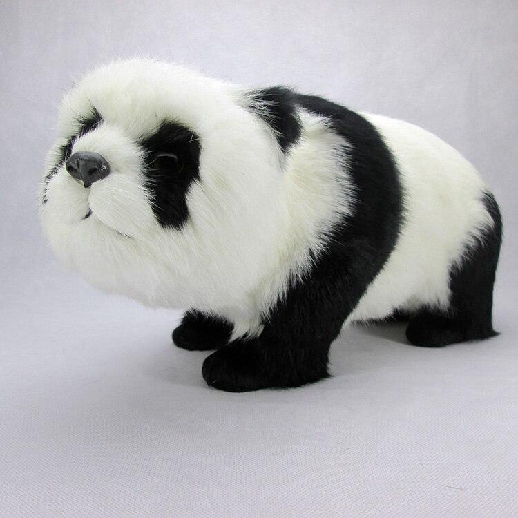 simulation cute panda 43x19x21cm model polyethylene&furs panda model home decoration props ,model gift d497 simulation cute squatting cat 53x36cm model polyethylene