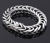 316 stainless steel jewelry snake styles high quality men bangles link chains The New Fashion 316L stainless steel bracelet