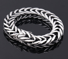 Фотография 316 stainless steel jewelry snake styles high quality men bangles link chains The New Fashion 316L stainless steel bracelet