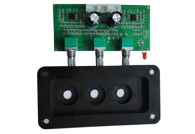 התאמת בס טרבל טון לוח NE5532 סטריאו HIIF למגבר דיגיטלי Loudsperker פעיל שליטה על עוצמת קול
