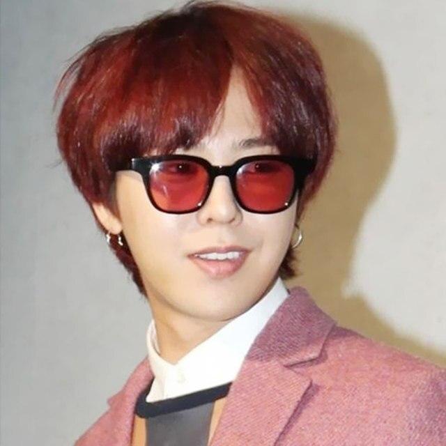 45be6812497ca1 2016 New Rétro Style Carré UV400 lunettes de Soleil Hommes Femmes Corée  Tendance Marque Designer Pas