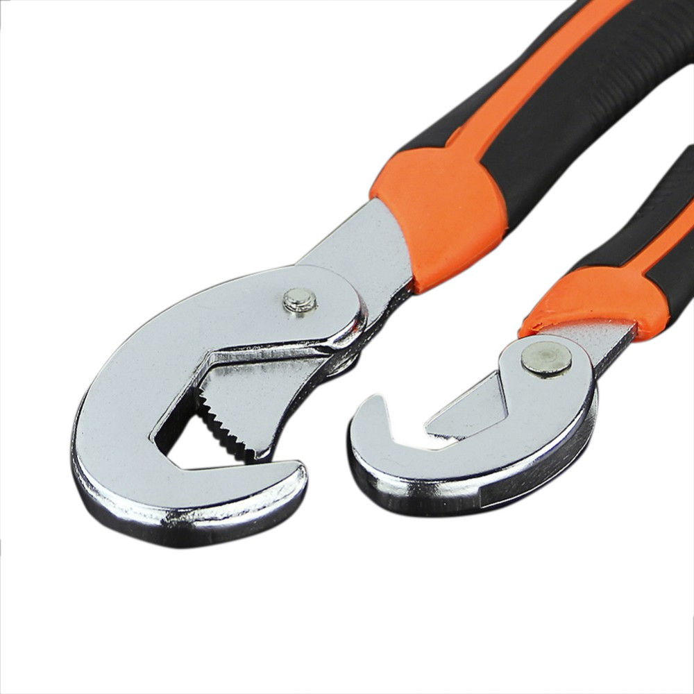 B Universal Key of 9-32 mm Adjustable Wrench Torque Wrench Spanner Kit Set Of Key Hand Tools Multitool Universal Spanners AD2002 newacalox multitool pliers pocket knife screwdriver set kit adjustable wrench jaw spanner repair survival hand multi tools mini