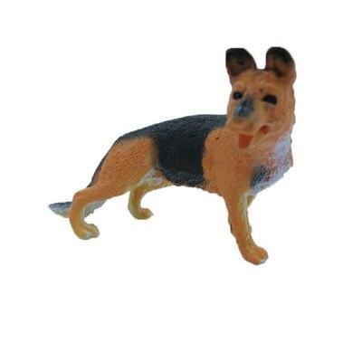 Пособия по немецкому языку Shepherd животных моделирования кукла украшение дома Игрушки для собак Милый щенок собаки модель моделирование мод...