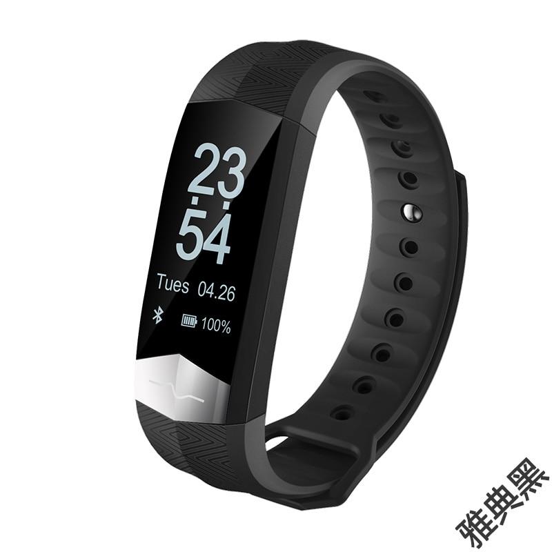 KF-CD01 nuevo 2019 ECG Monitor de presión arterial Bluetooth pulsera inteligente Deporte Fitness banda inteligente pulsera para VIVO Xplay6/Xplay5