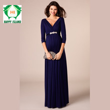 2017 New Summer Maternity Dresses Long V Neck Noble Prom Party Gowns Evening Vestidos For Pregnant