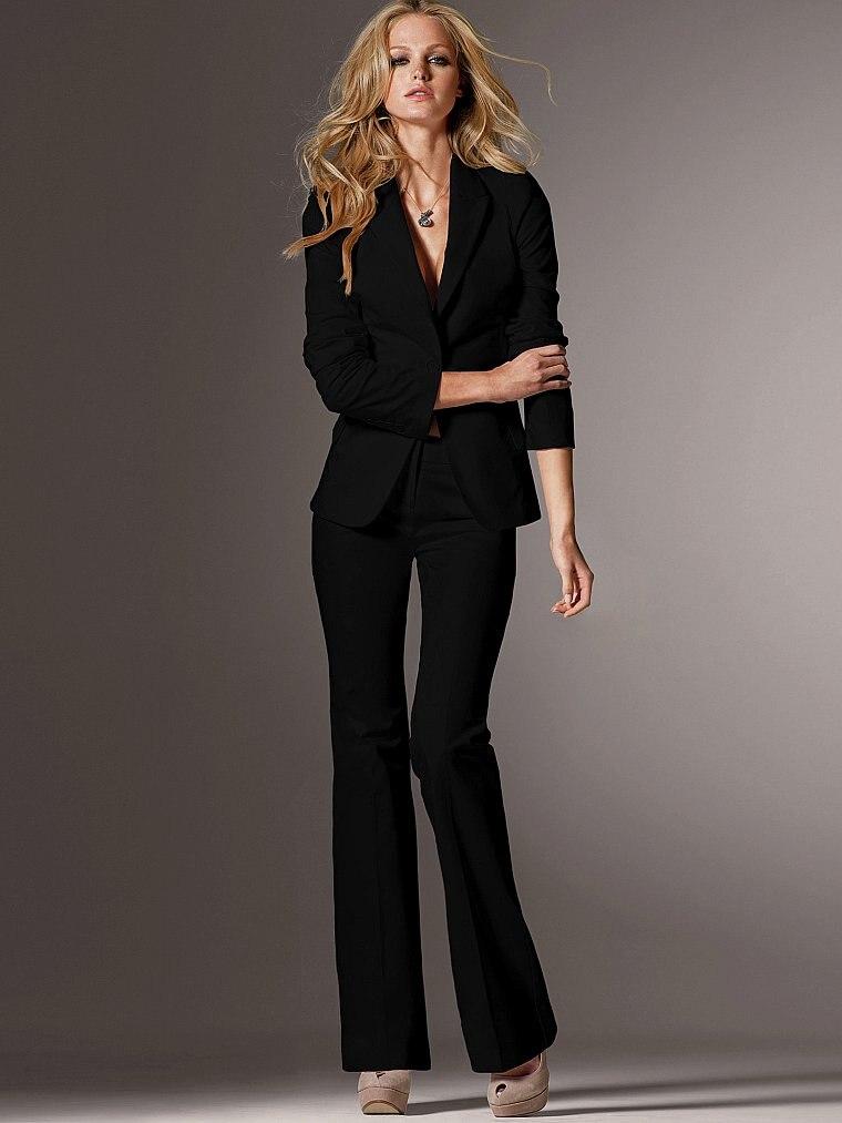 42b0bea69 2015 recién llegado de la venta caliente blanco mujer trajes ( jacket +  pants ) mujer trajes con pantalones en Trajes de pantalón de La ropa de las  mujeres ...