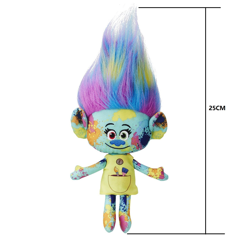 Harper Hug Trolls Figures Dreamworks Movie Trolls Brinquedo Plush Harper Stuffed Dolls Magic Fairy Hair Wizard Kids Toys