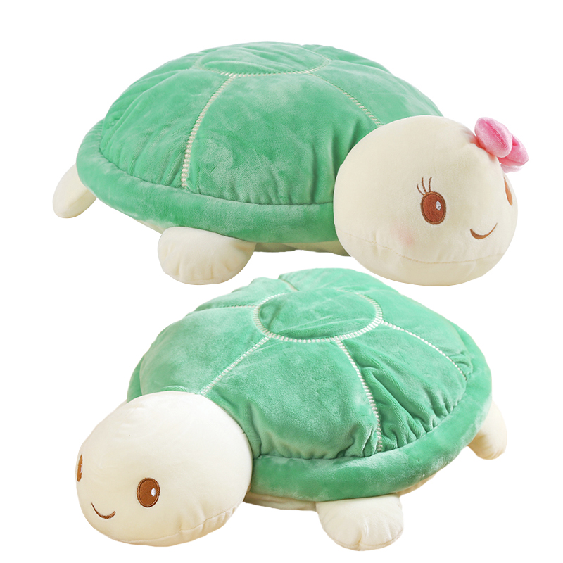 1pc 20cm Cute Tortoise Lovers Plush Animal Turtle Toys Baby Doll Nice Gift for Children Christmas Gift for Girls