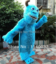mascot  Sullivan Hairy Monster Sally Mascot Costume Cartoon Character Adult Size Christmas Holiday Fancy Dress Outfit Suit