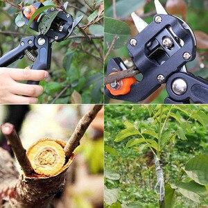 Image 5 - ガーデンツールグラフト剪定ばさみチョッパーvaccination切断木植物はさみ果樹ブドウつる移植ツールドロップシッピング