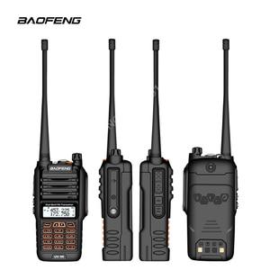 Image 3 - De BaoFeng UV 9R Plus resistente al agua de mano Walkie Talkie 8 vatios doble banda UHF, VHF IP67 transceptor HF UV 9R jamón portátil radio
