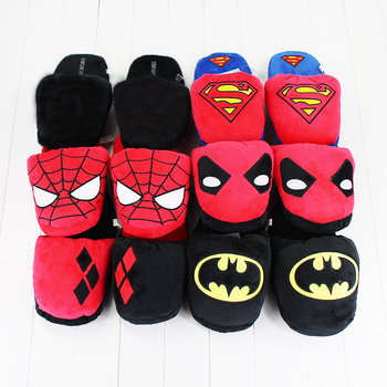 67f6e5ff60b4 25% off. Superhero Plush Slippers