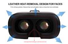 2016การออกแบบใหม่5.0รุ่นgoogleกระดาษแข็งvr boxกับหูฟังVRความจริงเสมือนแว่นตา3Dสำหรับ3.5-5.7นิ้วมาร์ทโฟน