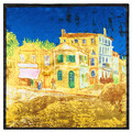 60 см * 60 см Европа и строить воздушные замки Женщин шелковый живопись классическая живопись небольшой площади шарф оптовая