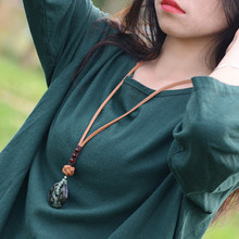 New wome vintage sweater necklace long fashion jewelry wholesale retail pendant chain accessories gift XL130