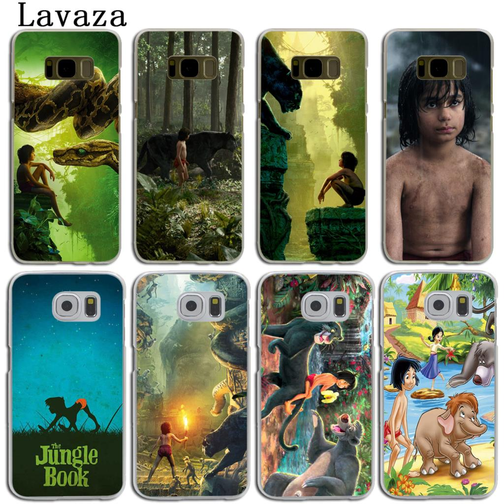 Lavaza The Jungle Book Hard Skin Phone Shell Case for Samsung Galaxy S7 S6 Edge S3 S4 S5 & Mini S8 S9 Plus Cover