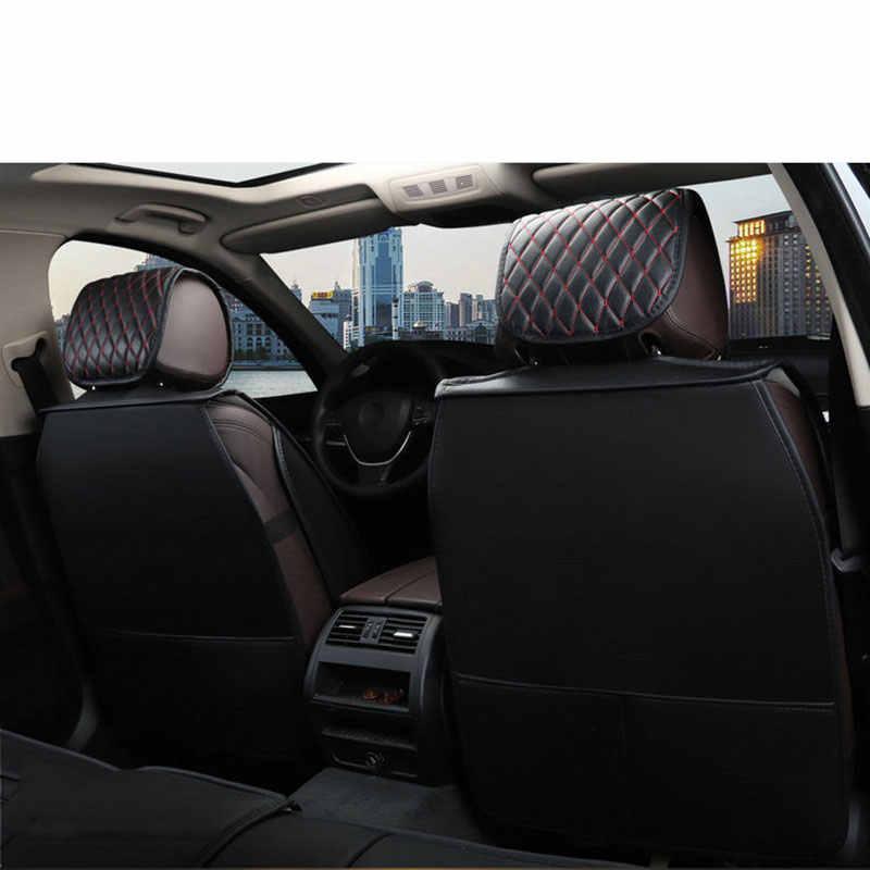 Lederen auto universele auto bekleding kussen hyundai i20 i30 i40 ix 25 ix 35 ix25 bandeja creta ix35 getz grand veloster