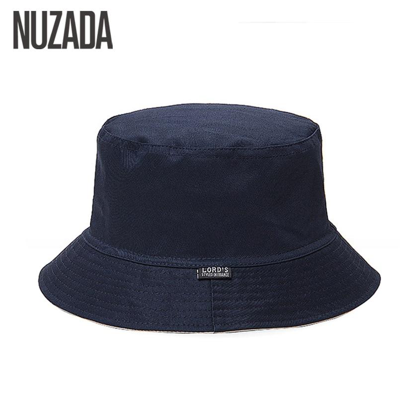 NUZADA Men Women Bucket Hat Caps Summer Fisherman Cotton