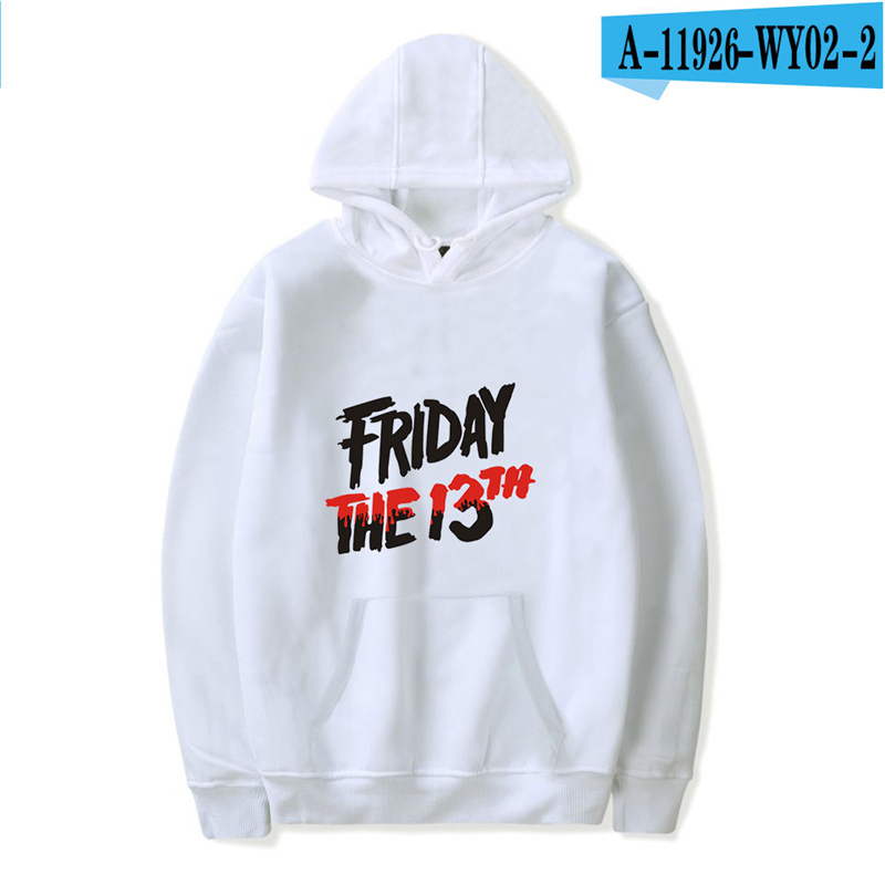 Friday The 13Th Hoodie The Game Horror Mask Killer Puzzle Long Sleeve Jacket Oversized Game Hoodie 2019 Printed Clothing Hooded