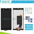 Для Sony Xperia Z LT36i LT36 C6603 ЖК-Дисплей и Сенсорный Экран Digitizer Ассамблеи Замена + Клей + Инструменты Отслеживая Нет