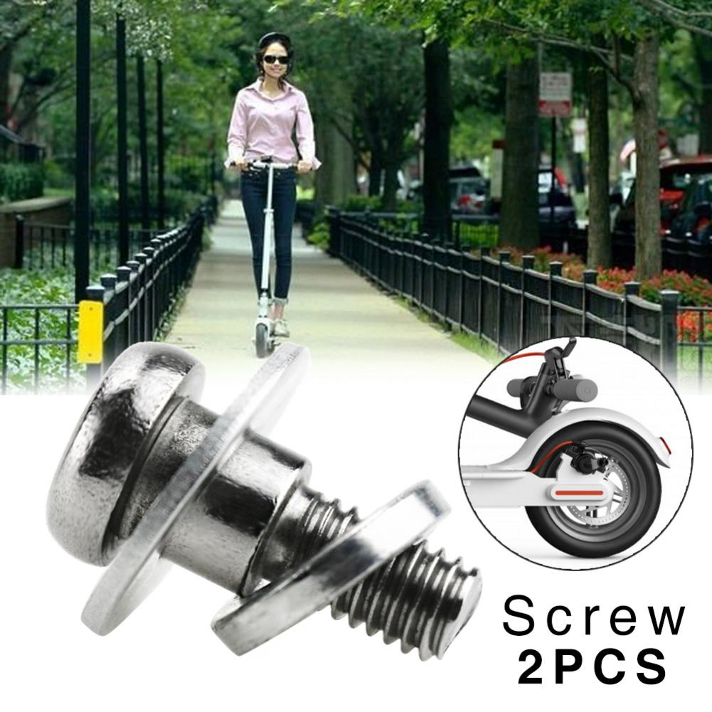 Xiaomi Mijia M365 Electric Scooter Skateboard Rear Motor Wheel Tire Screws Blind Nut Clamping Retaining Set Screws Replacement