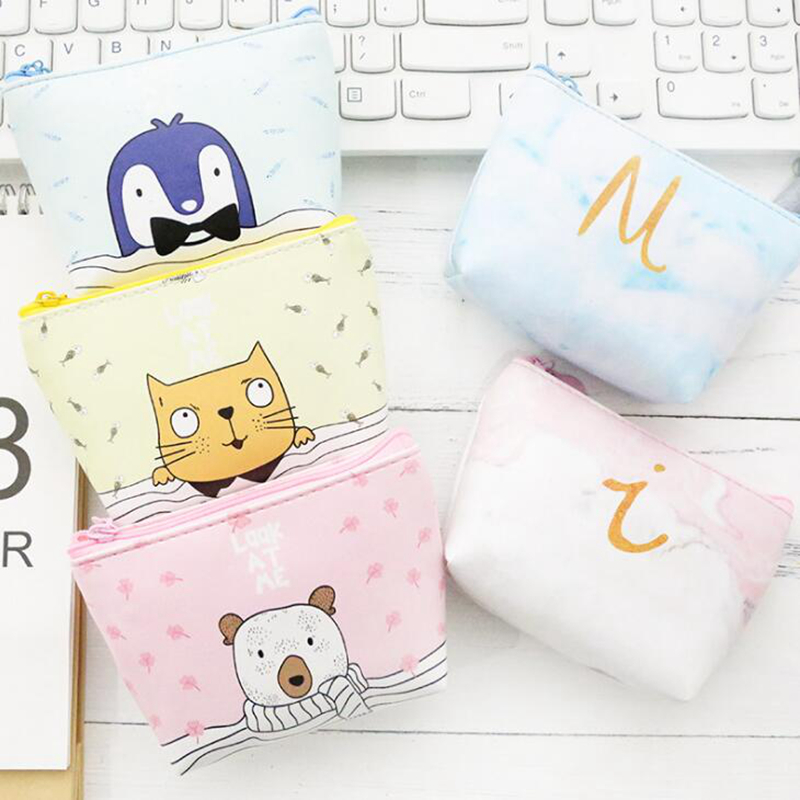 Cute Animal Elephant Coin Purses Holder Women Mini Change Wallets Girl Kids Money Bag Coin Bag Children Zipper Small Pouch Gift cartoon animal unicorn coin purses holder cute girl kids women mini change wallets money bag coin bag children zipper pouch gift