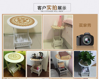 Portable oval Coffee Table Eco friendly Living room tea table Side tables