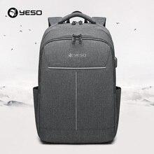 21cd140dc0533 YESO Rucksack Große Kapazität Mit USB Lade Multifunktions Teenager Business  Schule Reise Laptop Rucksäcke Für Frauen Männer