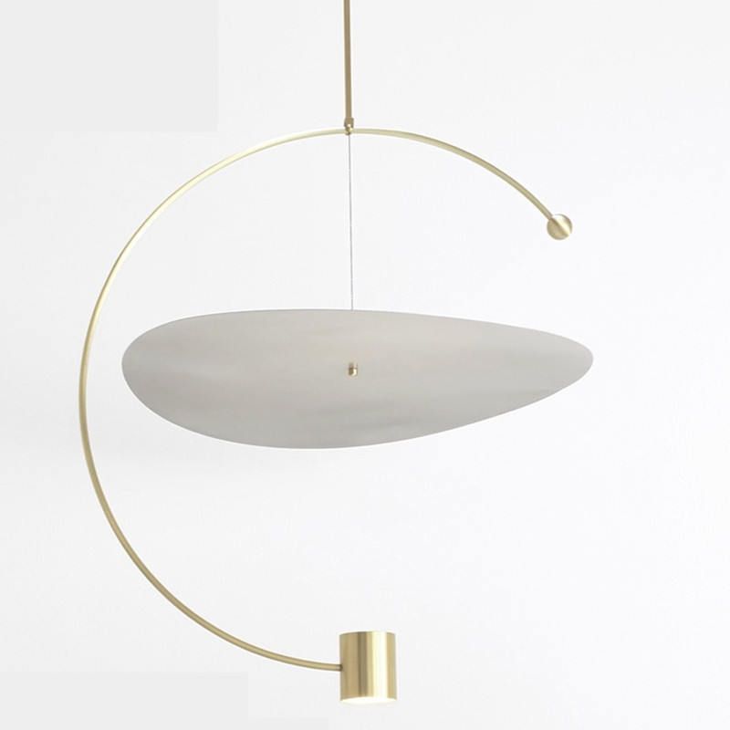 Image 5 - Post modern Minimalist Led Pendant Light Concise Designer Restaurant Dining Room Studio Suspension Light Fixtures Free Shipping-in Pendant Lights from Lights & Lighting