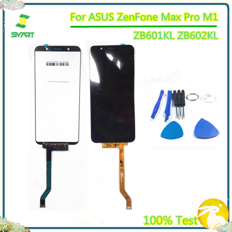 <font><b>LCD</b></font> Display For ASUS Max Pro M1 ZB601KL <font><b>ZB602KL</b></font> <font><b>LCD</b></font> Display Touch Screen Digitizer Assembly For ASUS Max Pro M1 ZB601KL <font><b>ZB602KL</b></font> image