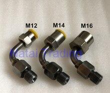 Parte do conector da tubulação do banco de teste do trilho comum da qualidade superior bomba comum do injetor do trilho conecta a junção ao tubo comum do trilho