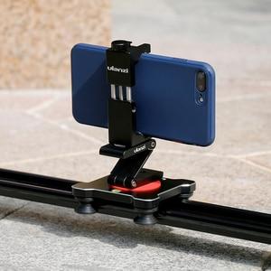 Image 4 - Ulanzi Iron Man ST 2s aluminiowy smartfon statyw do montażu na statywie Adapter pionowy do iPhone X 8plus Samsung mobilny statyw