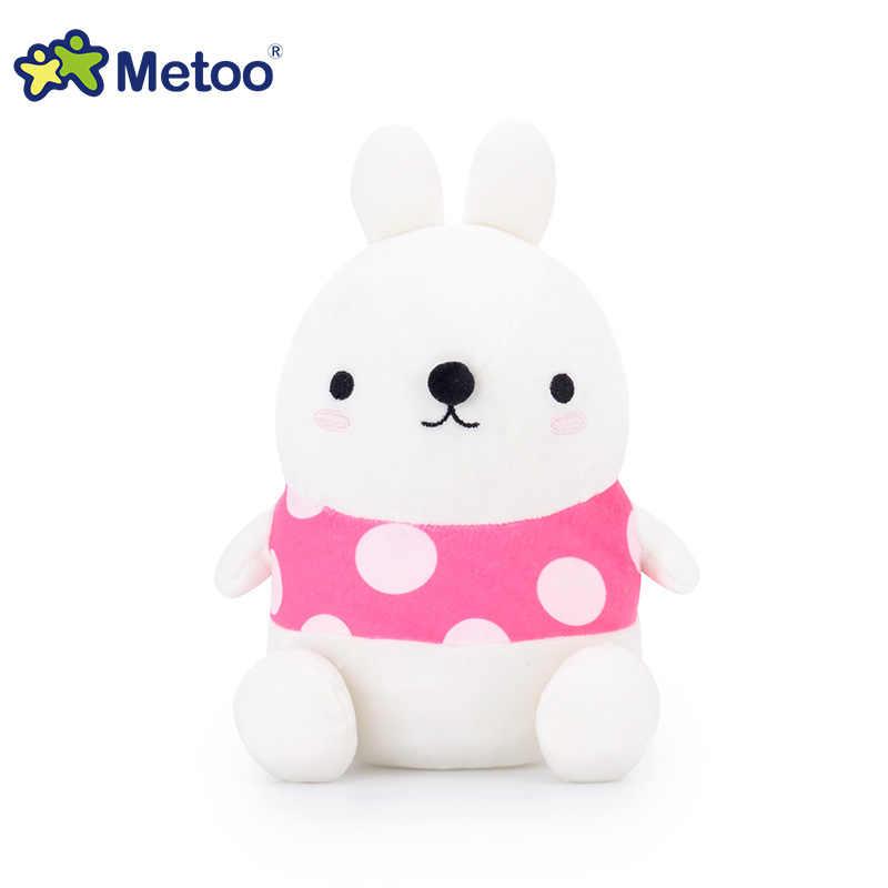 New Baby Cute Cartoon Fox Toys Boys Girls Soft Plush Rabbit Dolls Kids Infant Stuffed Penguin Toys Newborn Kawaii Gift Metoo