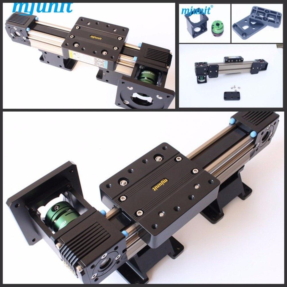 mjunit MJ45 Belt drive linear actuator with total length 4M belt driven linear motorized actuator linear actuator servo motion cnc belt driven guided linear actuator any travel length
