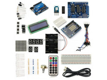 UNO R3+L293D Motor Drive Shield Starter Kit With Basic Arduino  Free shipping