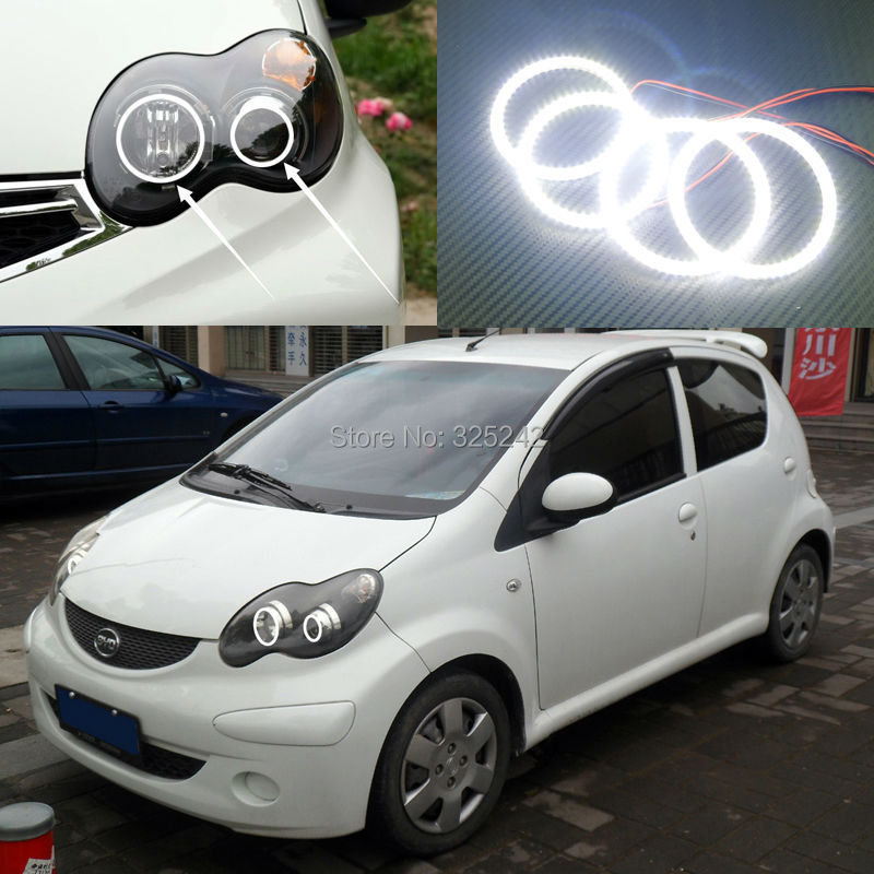 For BYD F0 F1 2008 2009 2010 2011 2012 2013 2014 2015 Excellent Ultra bright illumination smd led Angel Eyes Halo Ring kit car rear trunk security shield shade cargo cover for nissan qashqai 2008 2009 2010 2011 2012 2013 black beige