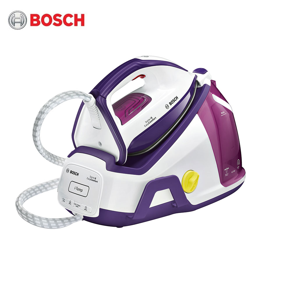 Electric Irons Bosch TDS6530 Steam stations SecureLock System Clean Easy CeraniumGlissee soleplate Auto-shut-off secure free shipping fuel shut off solenoid 3934177 sa 4697 24 24v