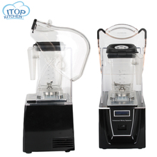 BPA Free 1.5L Multi-function Soundproof Cover Blender Mixer Machine Commercial Heavy Duty Ice Smoothie Blender Food Processor