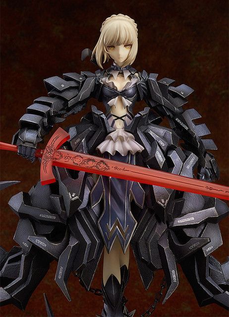 NEW hot 23cm Fate Zero Fate stay night black saber Arturia Pendragon action figure toys collection Christmas gift no box 1