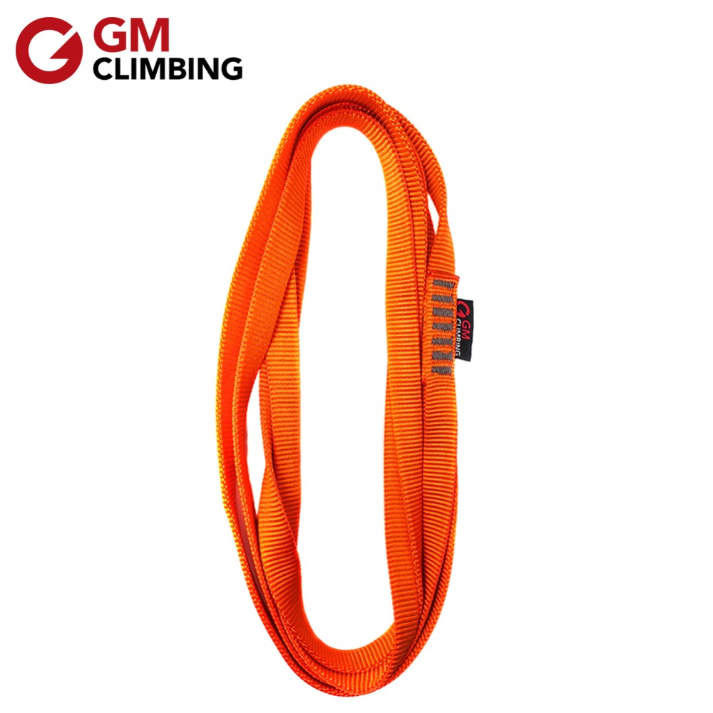 Climbing Rock Sling Bearing Nylon Strap Safety Rope Mountaineering Cord Outdoor