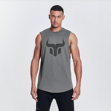 Tank top 2019 summer mens sleeveless sportswear brand vest jogger fitness gyms tank jordan clothing